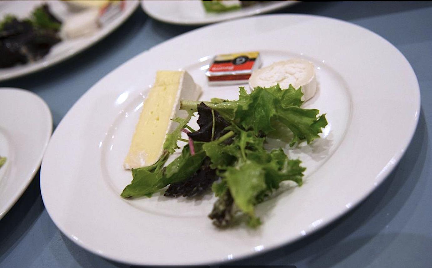 Fromages & Mesclun de salade et petit Beurre